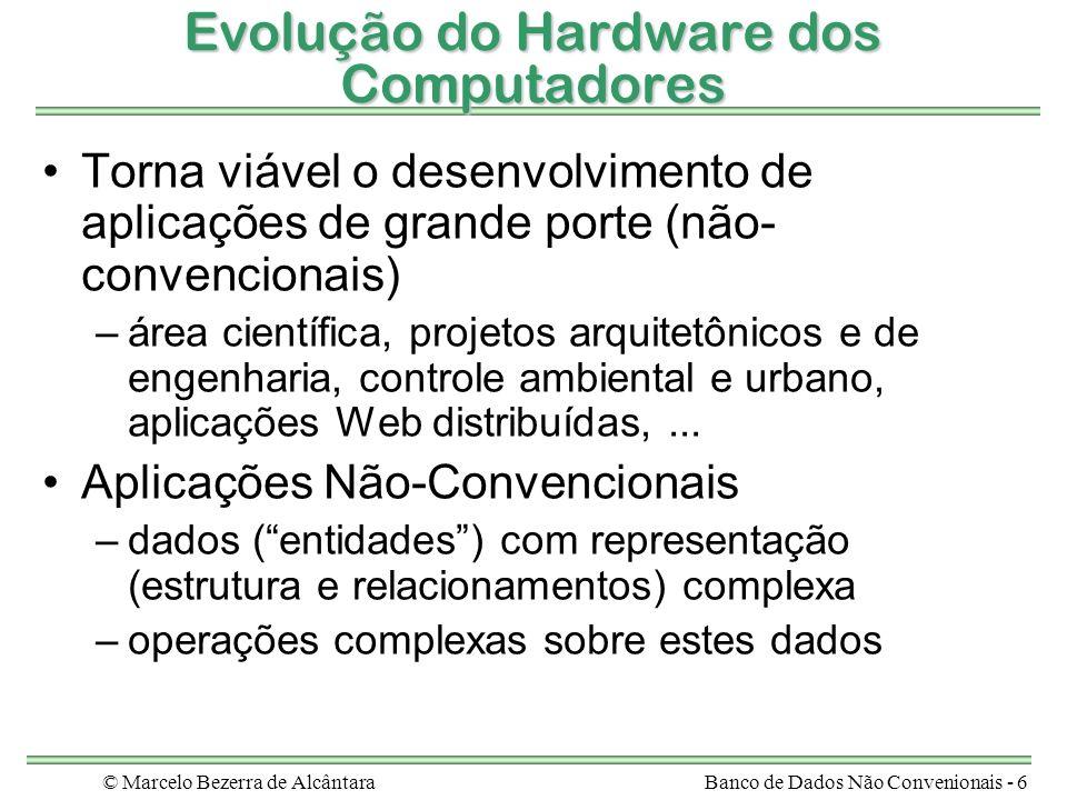 Evolução do Hardware dos Computadores