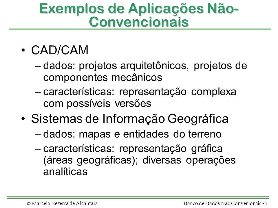 Exemplos de Aplicações Não-Convencionais
