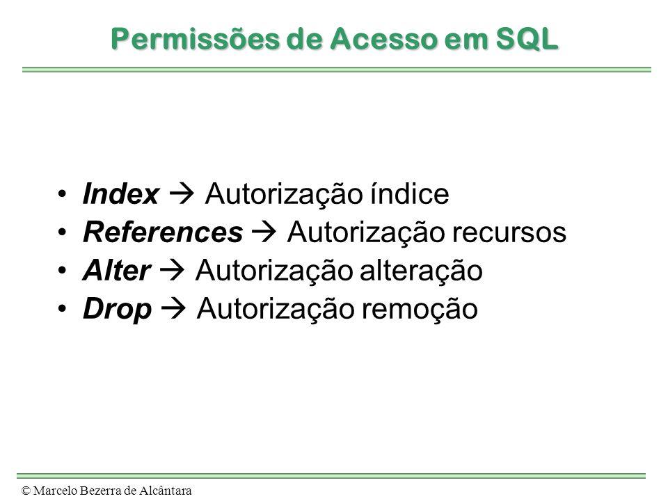 Permissões de Acesso em SQL