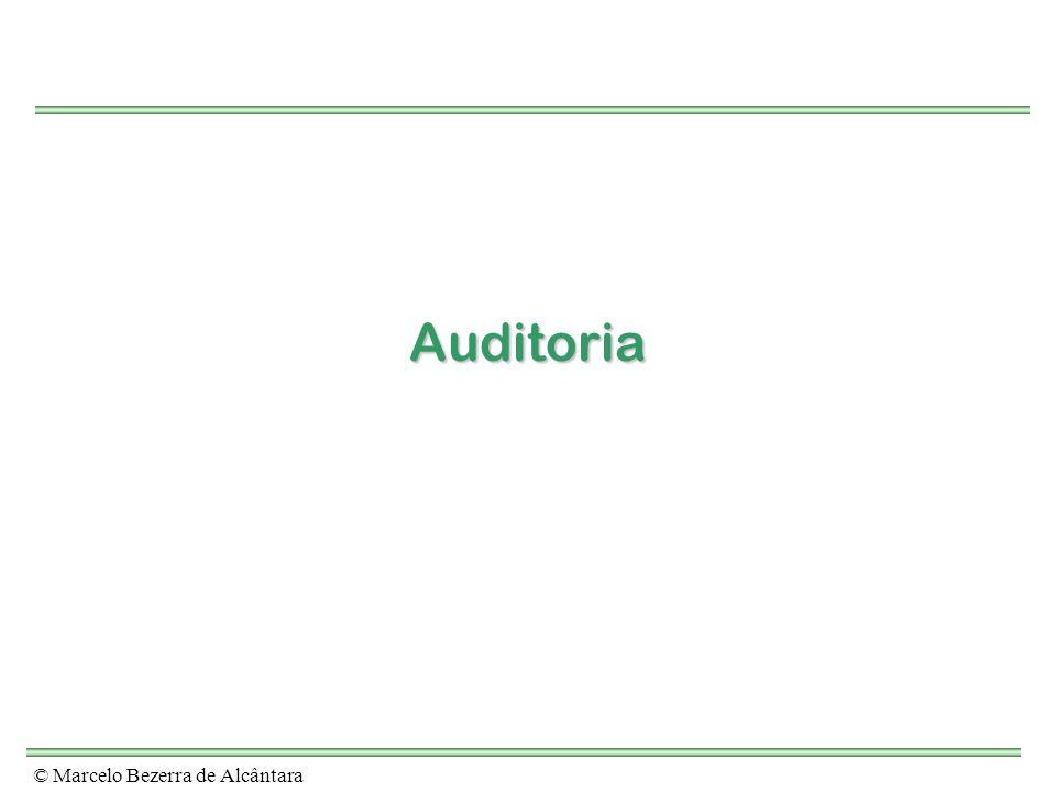 Auditoria © Marcelo Bezerra de Alcântara