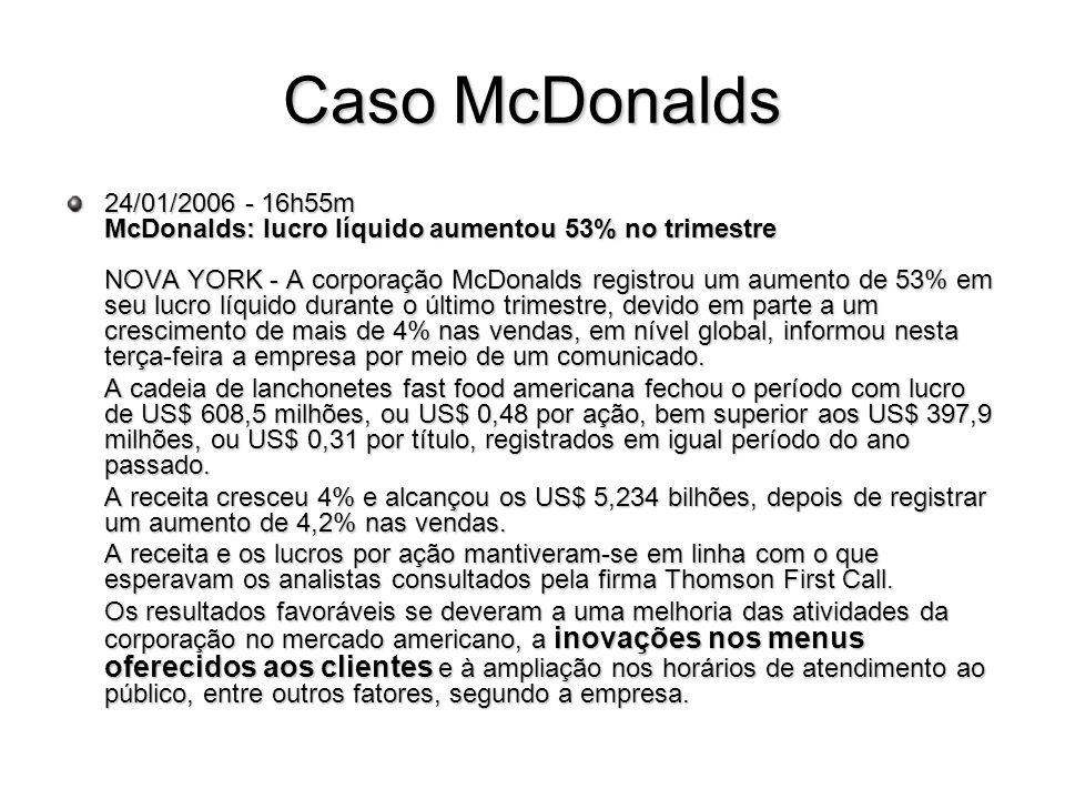 Caso McDonalds