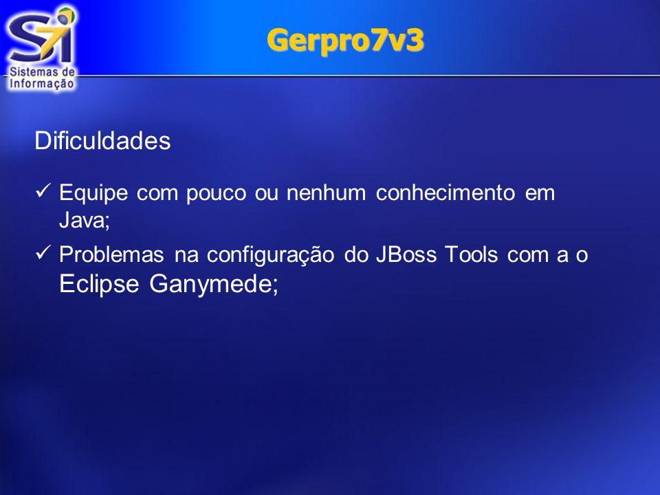 Gerpro7v3 Dificuldades.