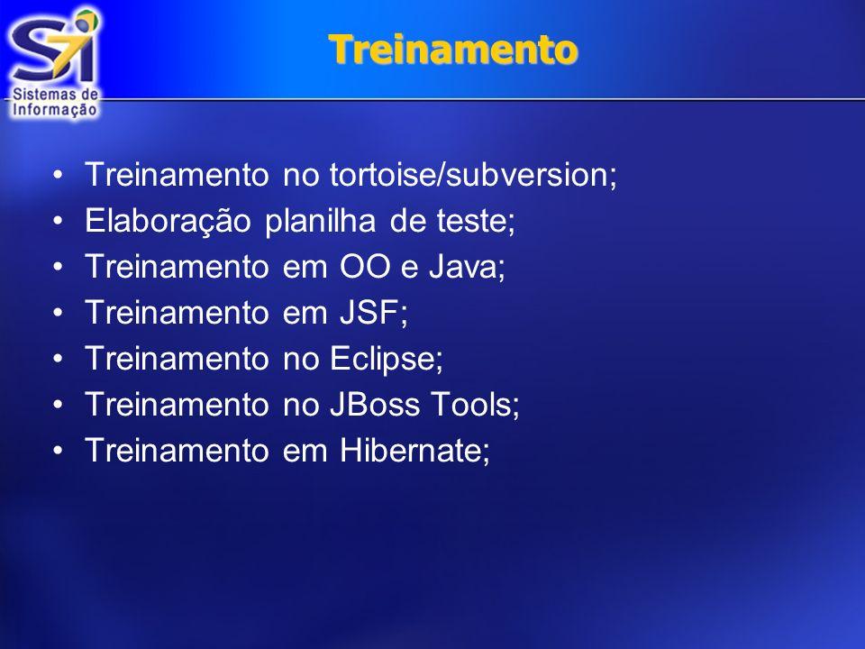 Treinamento Treinamento no tortoise/subversion;