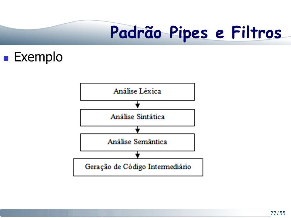 Padrão Pipes e Filtros Exemplo