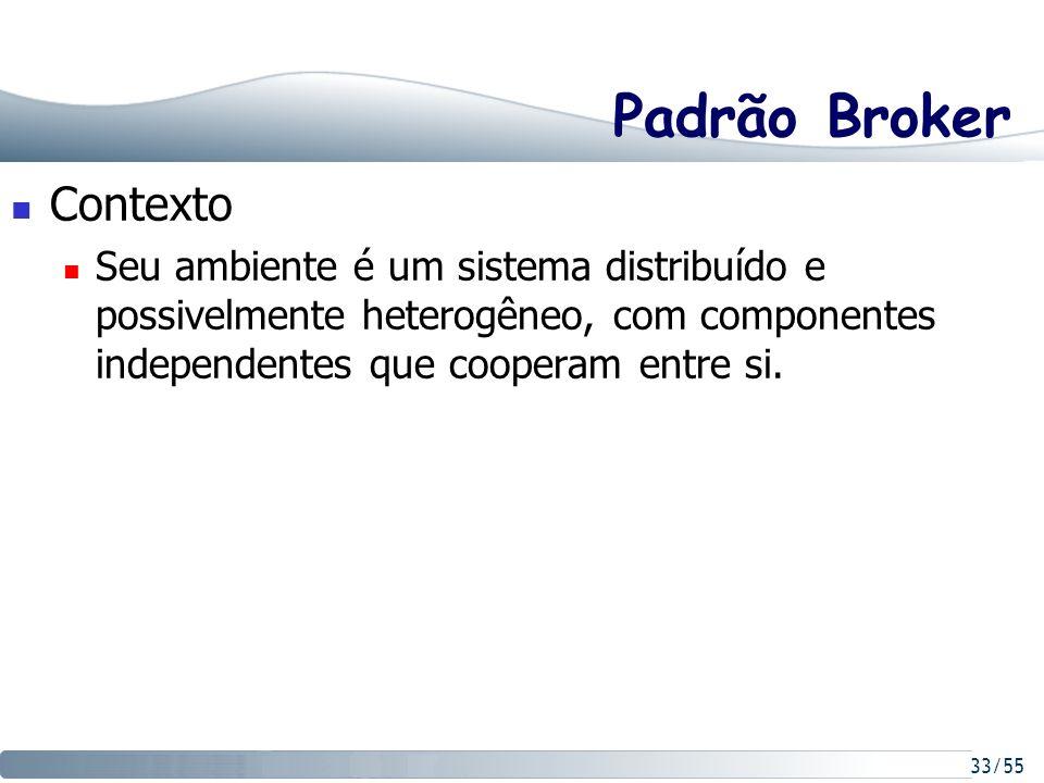 Padrão Broker Contexto