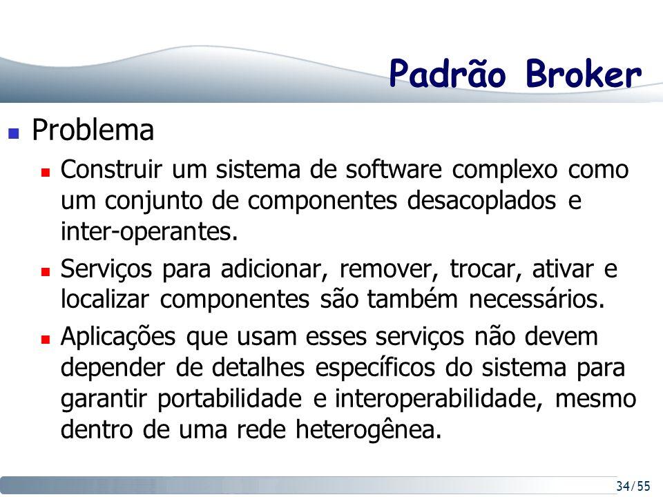 Padrão Broker Problema