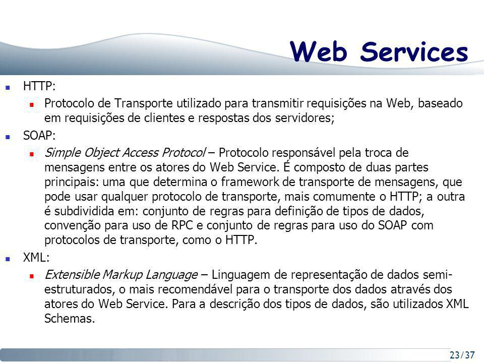 Web Services HTTP: