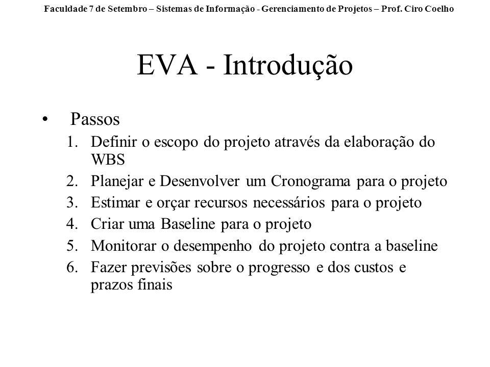 EVA - Introdução Passos