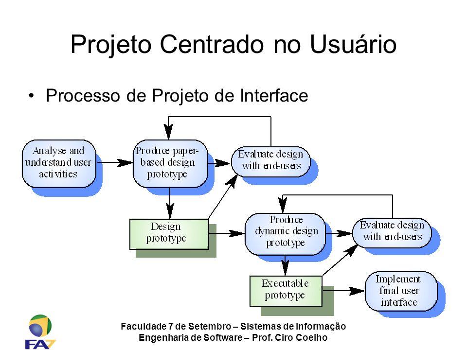 Projeto Centrado no Usuário