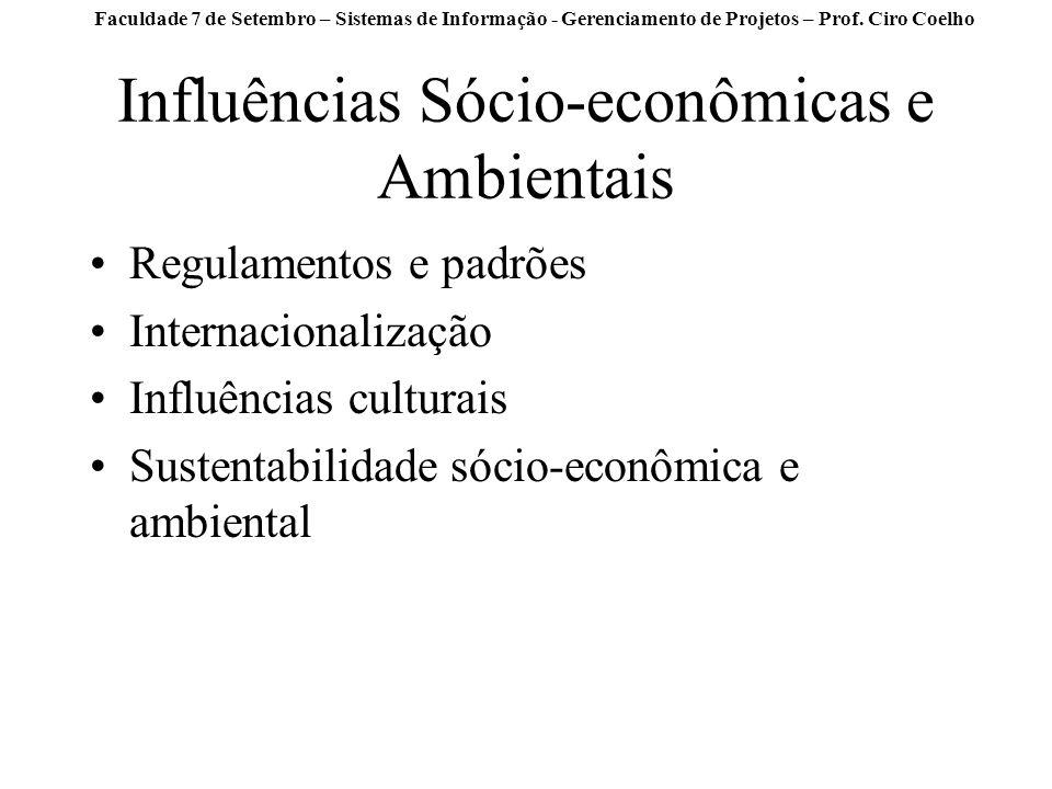 Influências Sócio-econômicas e Ambientais