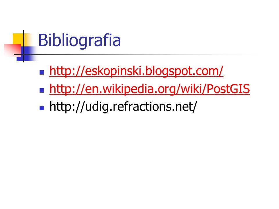 Bibliografia http://eskopinski.blogspot.com/