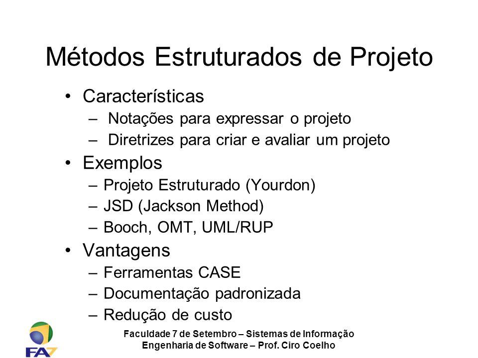 Métodos Estruturados de Projeto