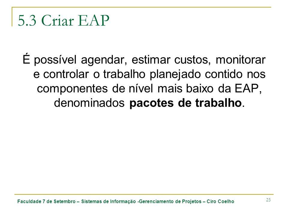 5.3 Criar EAP