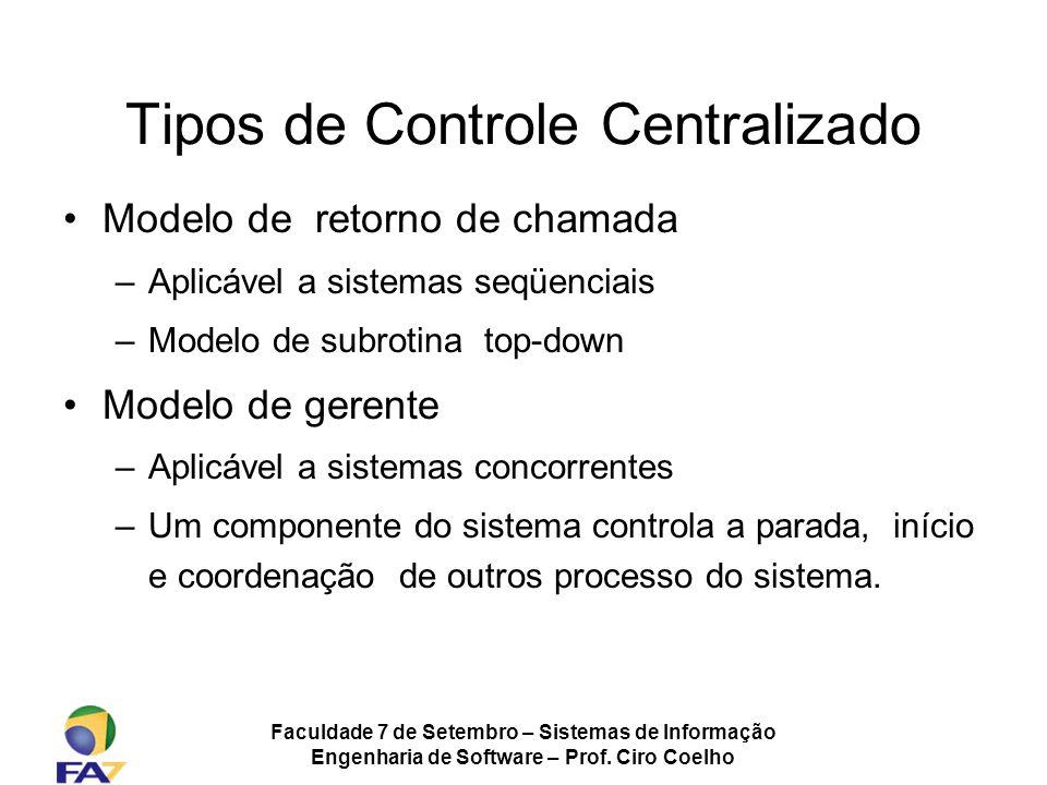 Tipos de Controle Centralizado