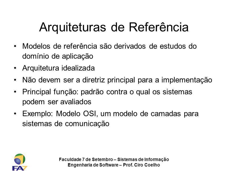 Arquiteturas de Referência