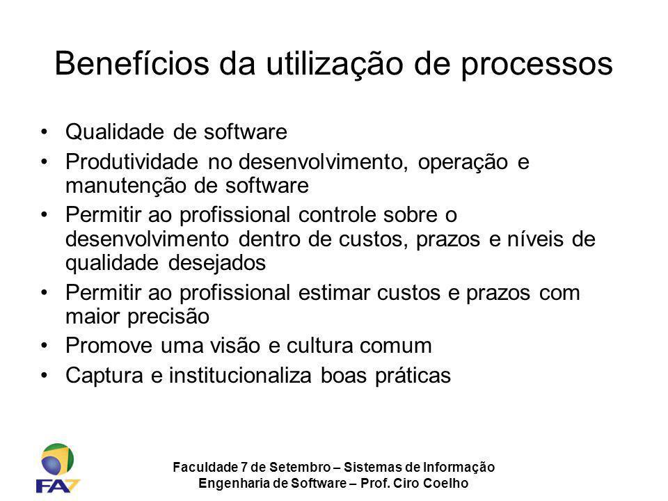 Benefícios da utilização de processos