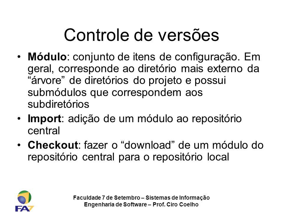 Controle de versões