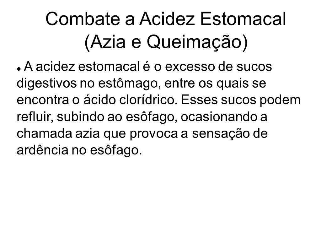 Combate a Acidez Estomacal (Azia e Queimação)