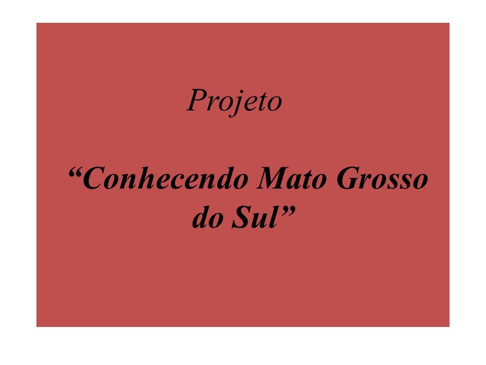 Projeto Conhecendo Mato Grosso do Sul