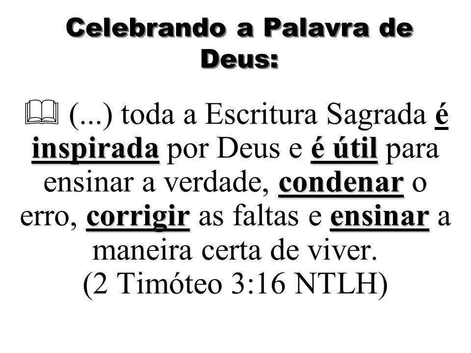 Celebrando a Palavra de Deus: