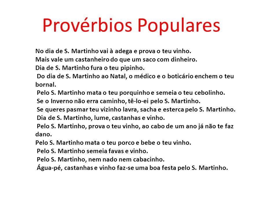 Provérbios Populares