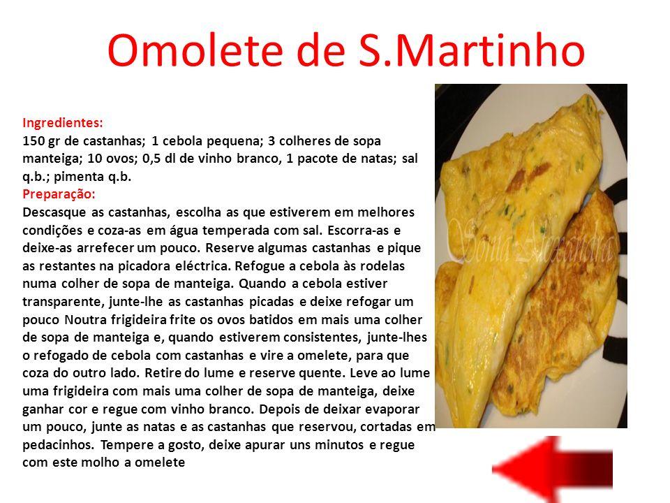 Omolete de S.Martinho