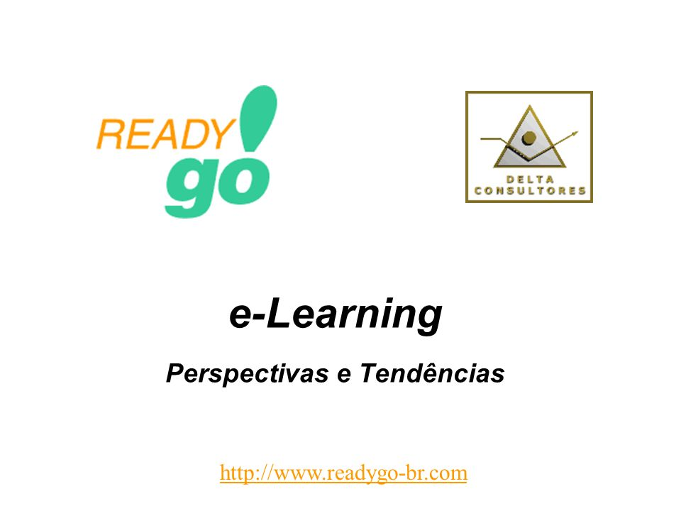 e-Learning Perspectivas e Tendências