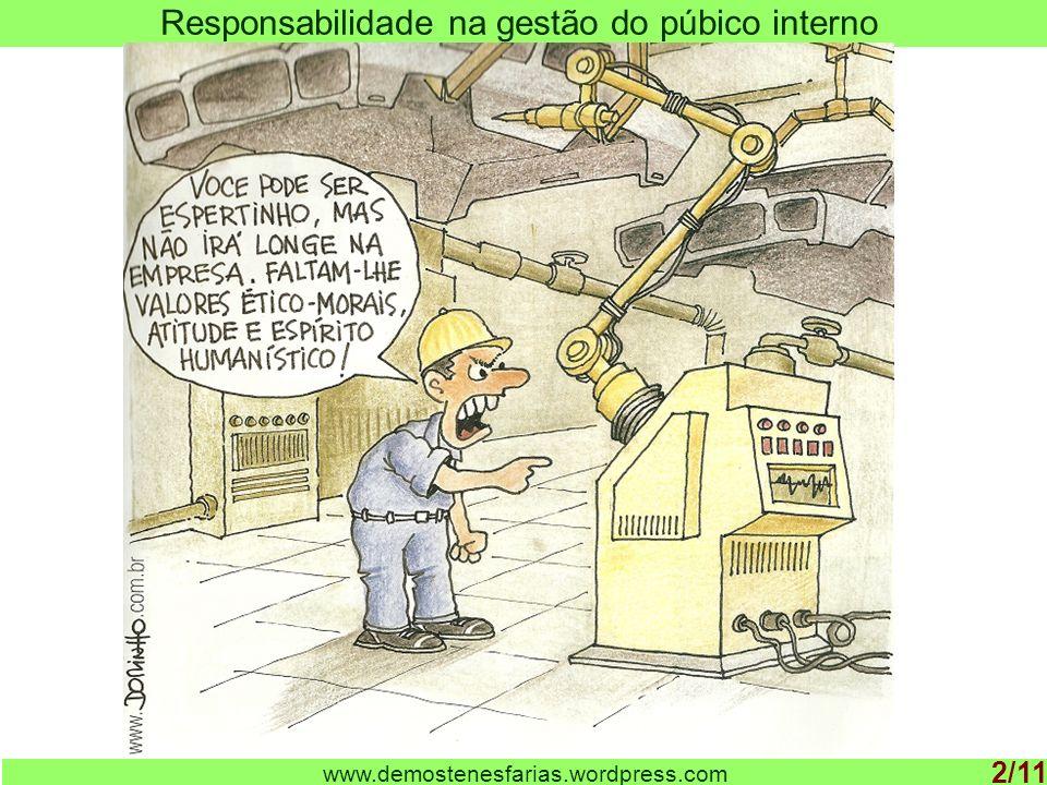Responsabilidade na gestão do púbico interno