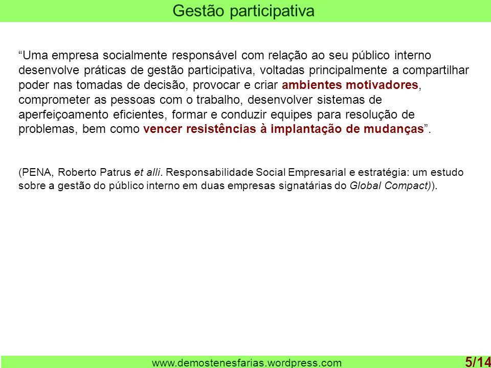 Gestão participativa 5/14