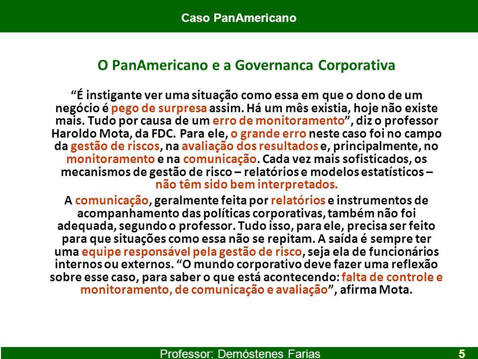 O PanAmericano e a Governanca Corporativa