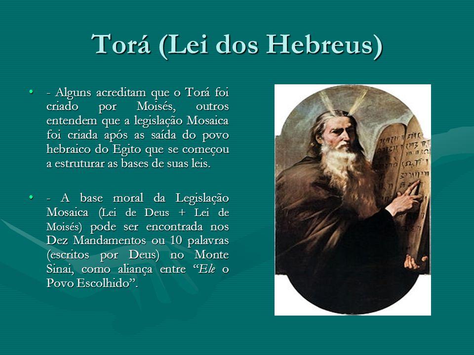 Torá (Lei dos Hebreus)