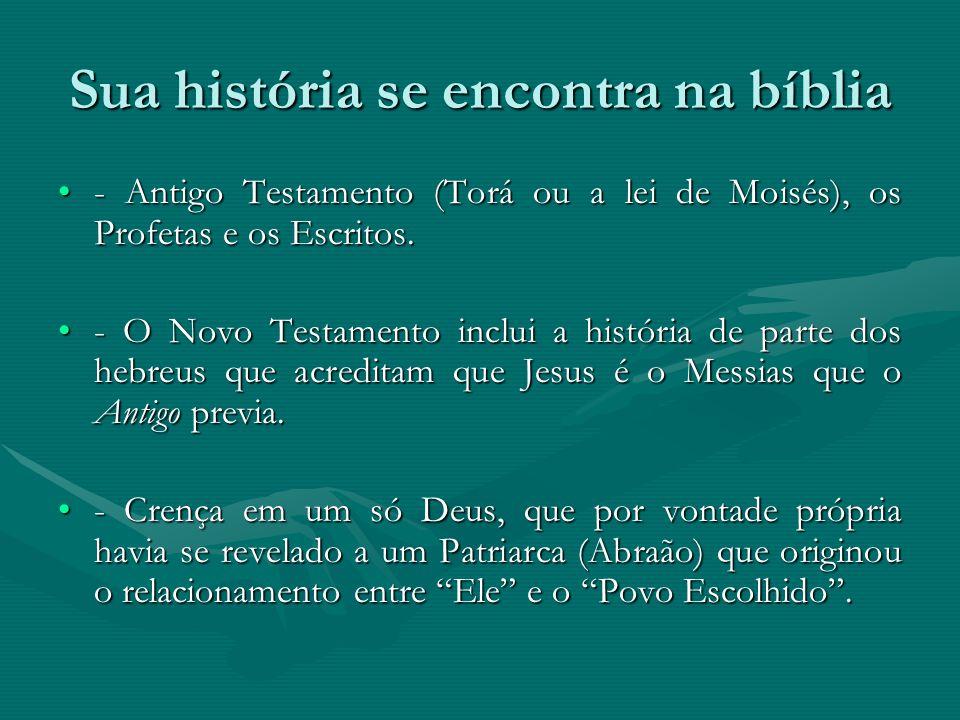 Sua história se encontra na bíblia