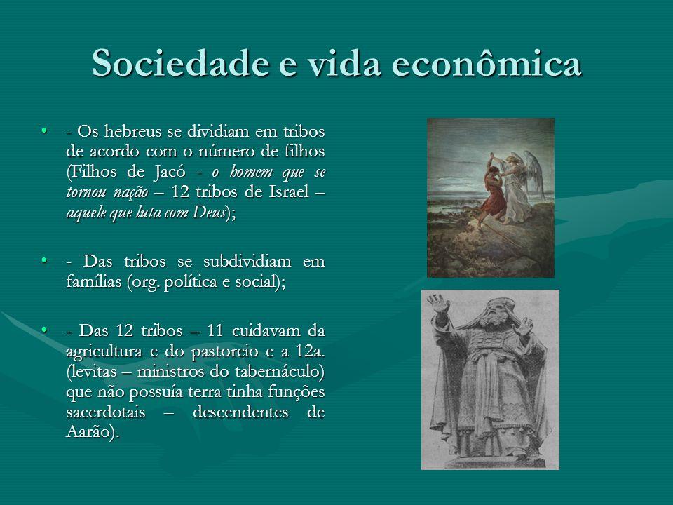 Sociedade e vida econômica