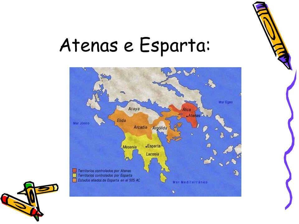 Atenas e Esparta: