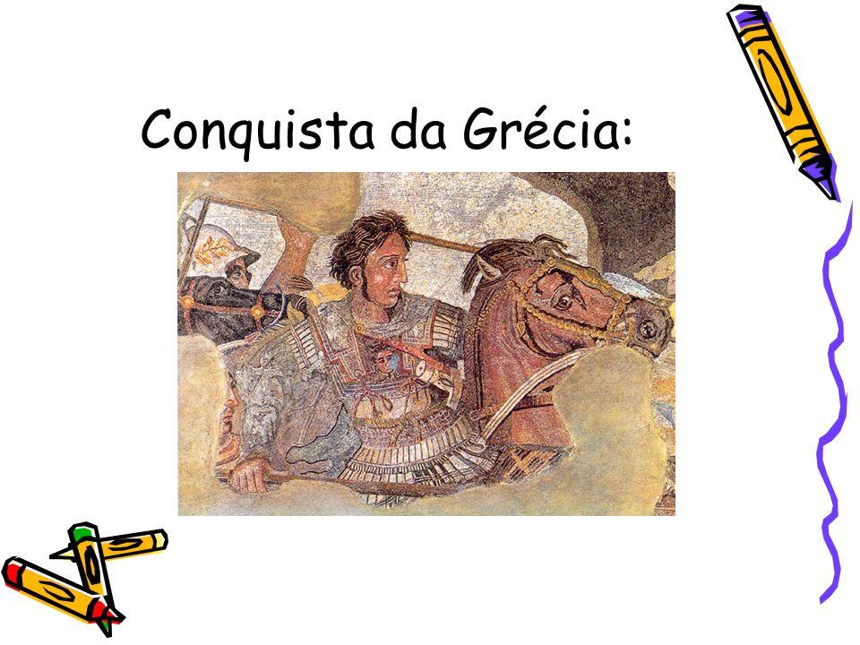Conquista da Grécia: