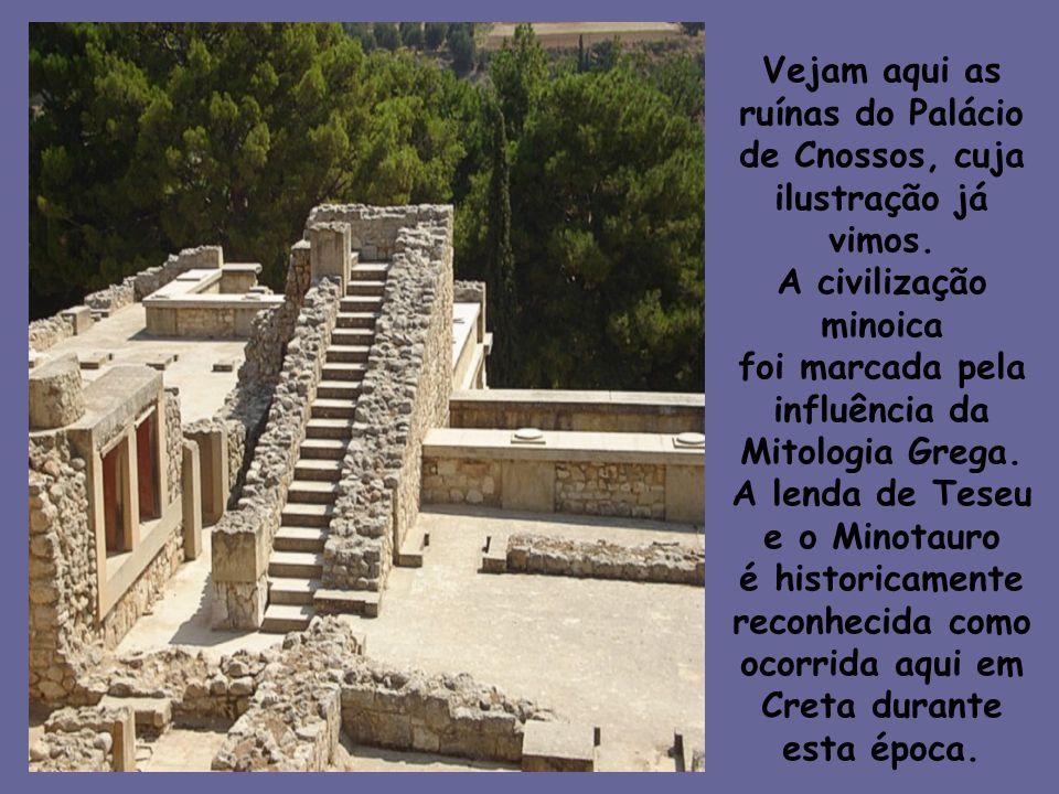 Creta durante esta época.