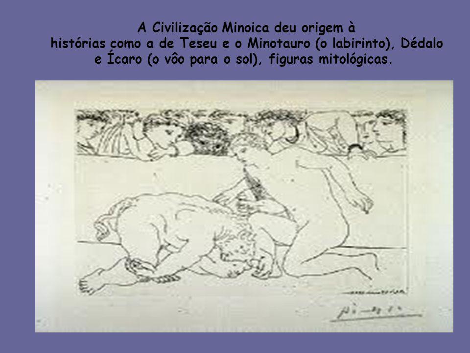 A Civilização Minoica deu origem à
