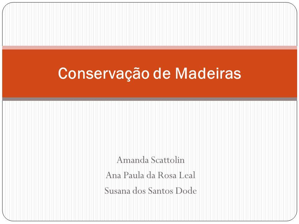 Conservação de Madeiras
