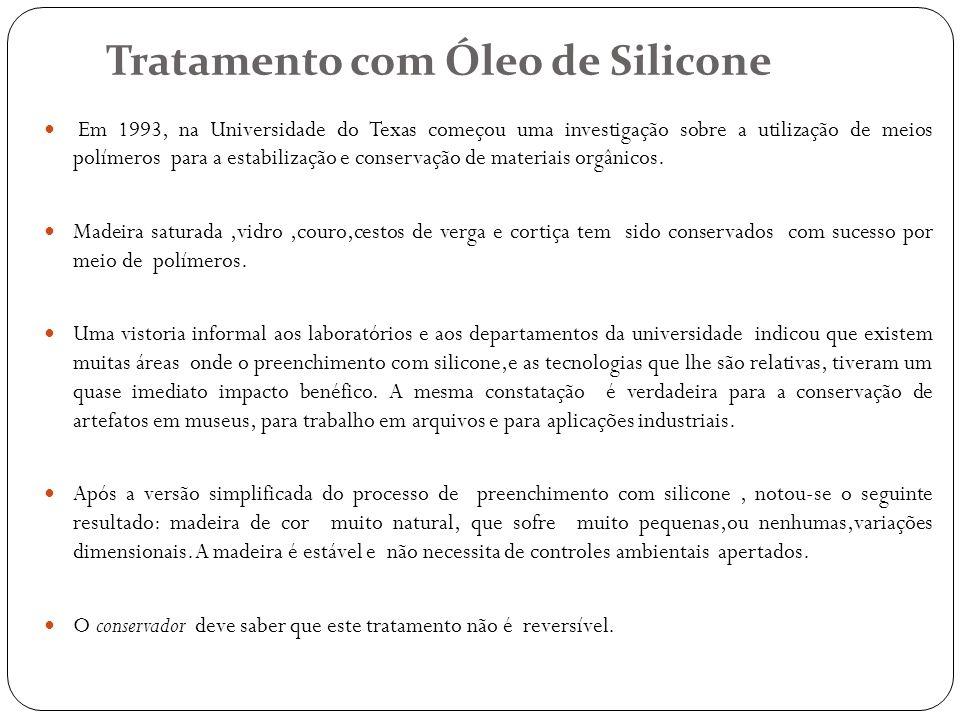 Tratamento com Óleo de Silicone