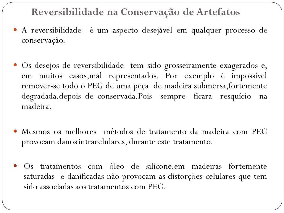 Reversibilidade na Conservação de Artefatos
