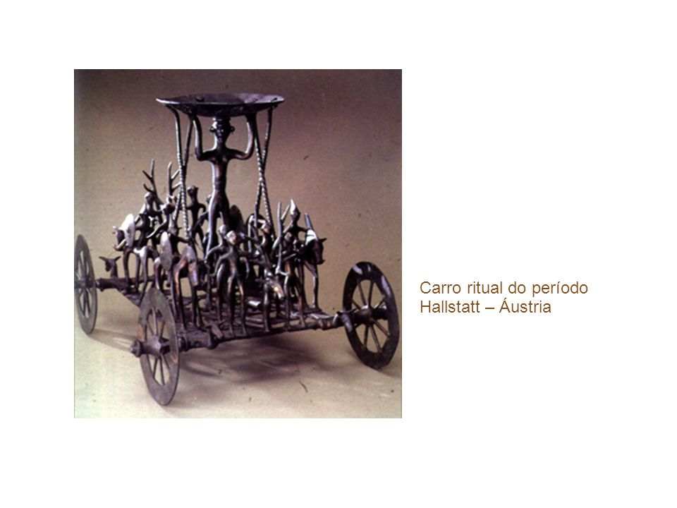 Carro ritual do período Hallstatt – Áustria