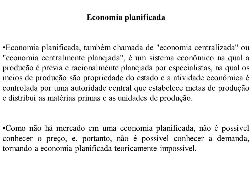 Economia planificada