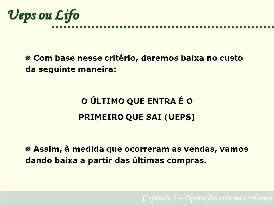 PRIMEIRO QUE SAI (UEPS)