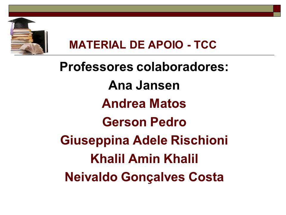 Professores colaboradores: Ana Jansen Andrea Matos Gerson Pedro