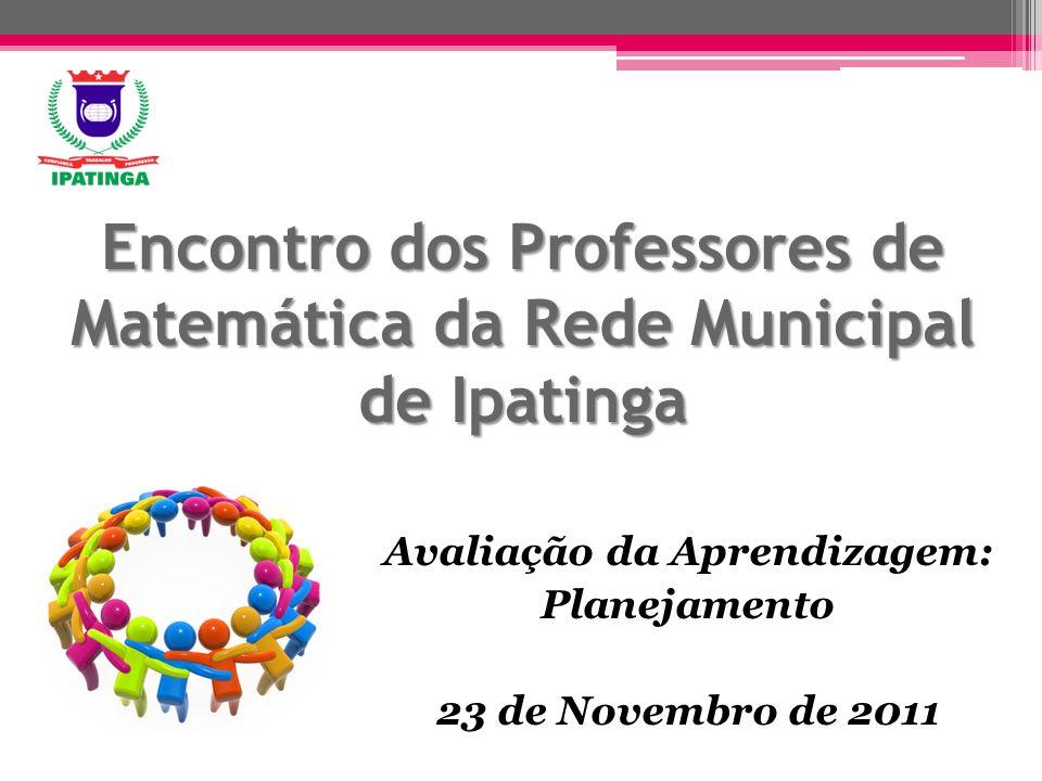 Encontro dos Professores de Matemática da Rede Municipal de Ipatinga