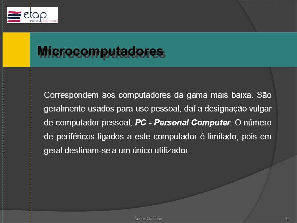 Microcomputadores