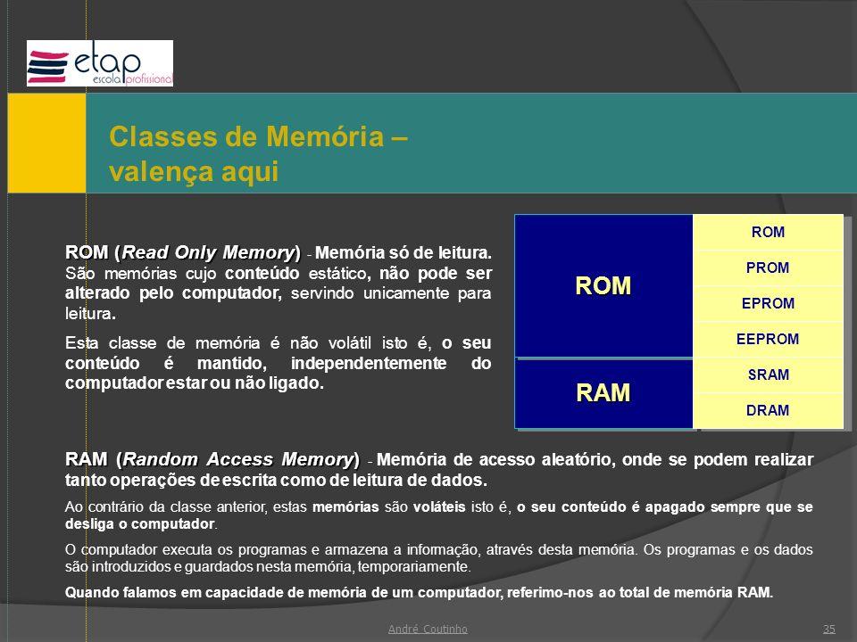 Classes de Memória –valença aqui