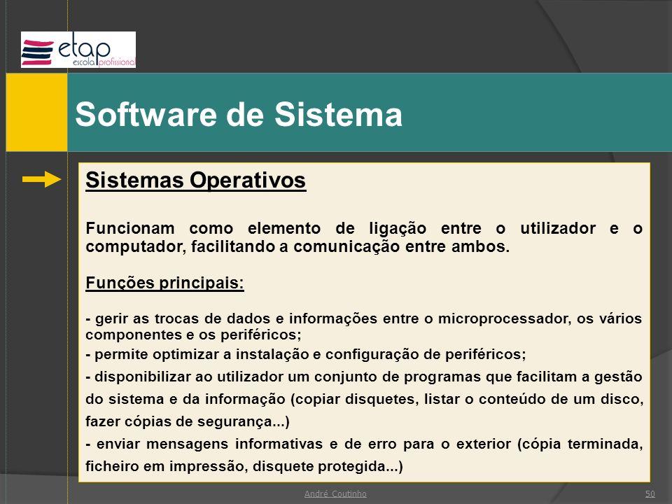 Software de Sistema Sistemas Operativos