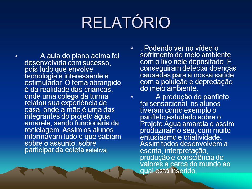 RELATÓRIO
