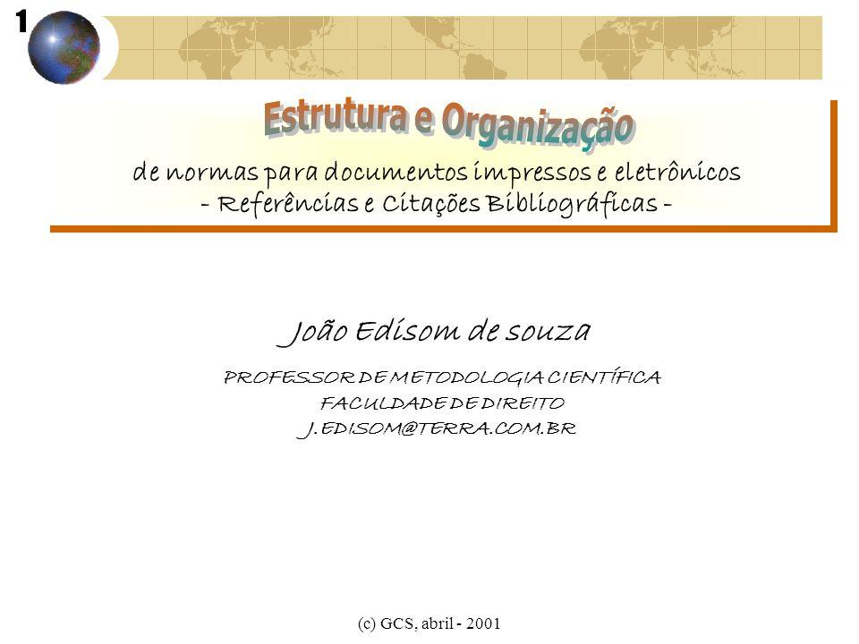 de normas para documentos impressos e eletrônicos